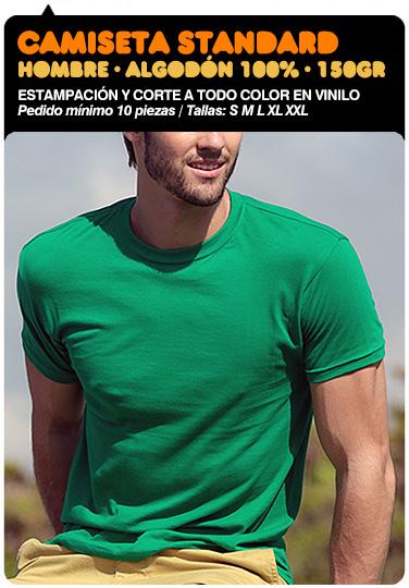 Estampación camiseta algodon hombre